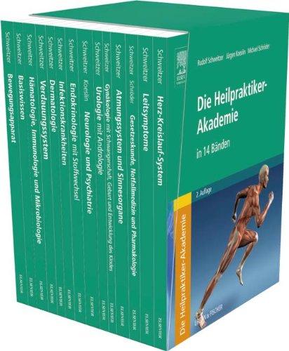 Die Heilpraktiker-Akademie - Gesamtausgabe in 14 Bänden