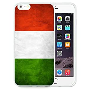 High Quality iPhone 6 Plus/iPhone 6S Plus 5.5 Inch TPU Case ,Italy Italian Flag White iPhone 6 Plus/iPhone 6S Plus Cover Unique And Fashion Designed Phone Case