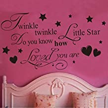 Changeshopping(TM)Removable Twinkle Little Star Wall Sticker Kids Bedroom DIY Decal