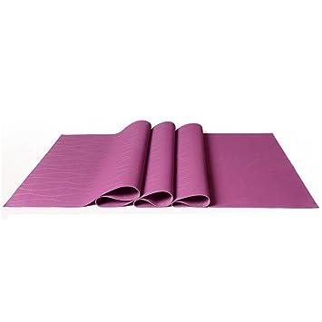 Antideslizante Yoga Mat --- Ultra-delgado de 1,5 mm de goma ...