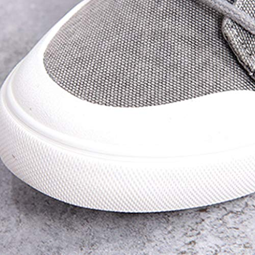 tendenza Beige da da scarpe WangKuanHome tela estate Scarpe uomo di 43 traspirante Color Size casuale selvaggia scarpe Black uomo da scarpe uomo CUXxq75xw