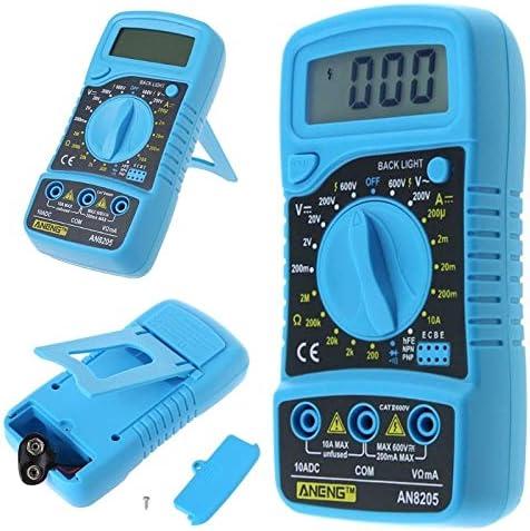 盛世汇众 AN8205multímetroデジタルLCDvoltímetroamperímetroAC / DC/OHM voltio probadorデcorriente