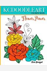 Flower Power: Coloring Book Paperback
