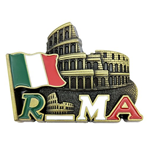 Roman Colosseum. Rome. Italy, Metal 3d Fridge Magnet (Roll over image to zoom in Roman Colosseum)