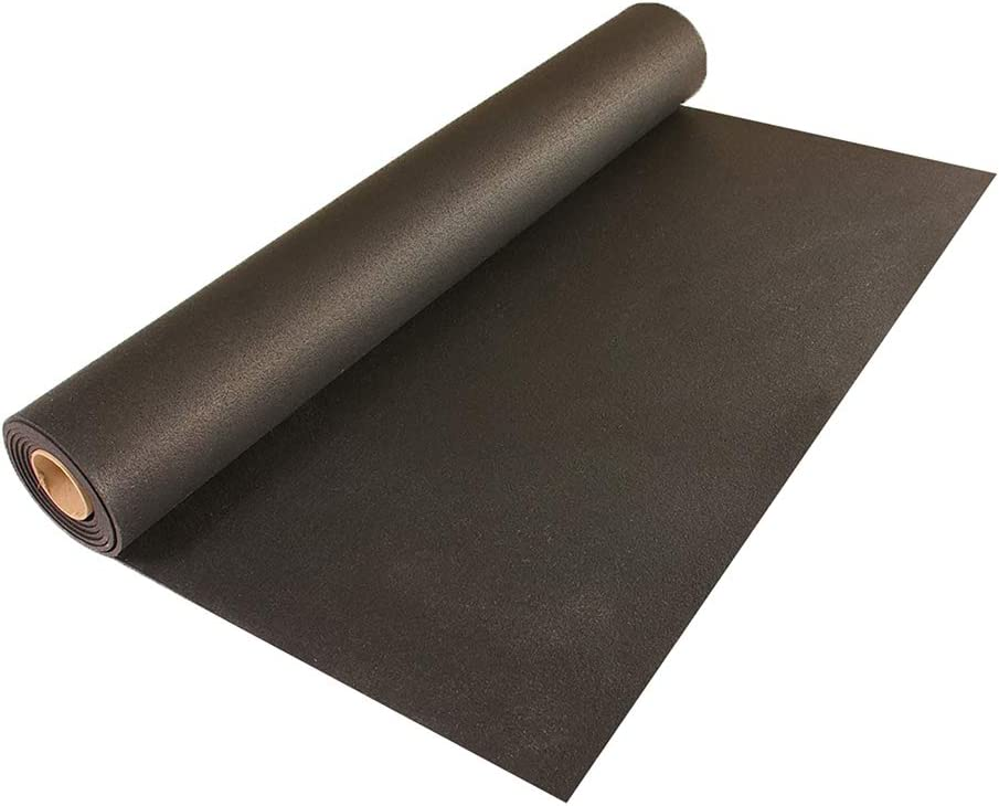 Natural Rubber Exercise Mats American Floor Mats 5//16 Rubber Gym Flooring Thick 10/% Blue 4 x 15 Rubber Rolls 8mm