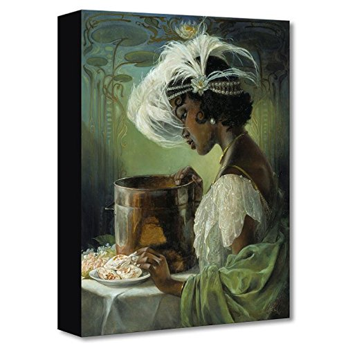 """Dig a Little Deeper"" Limited edition gallery wrapped canvas by Heather Theurer from the Disney Fine Art Treasures collection; with COA."