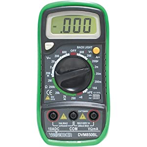 Velleman DVM850BL Digital Multimeter Review
