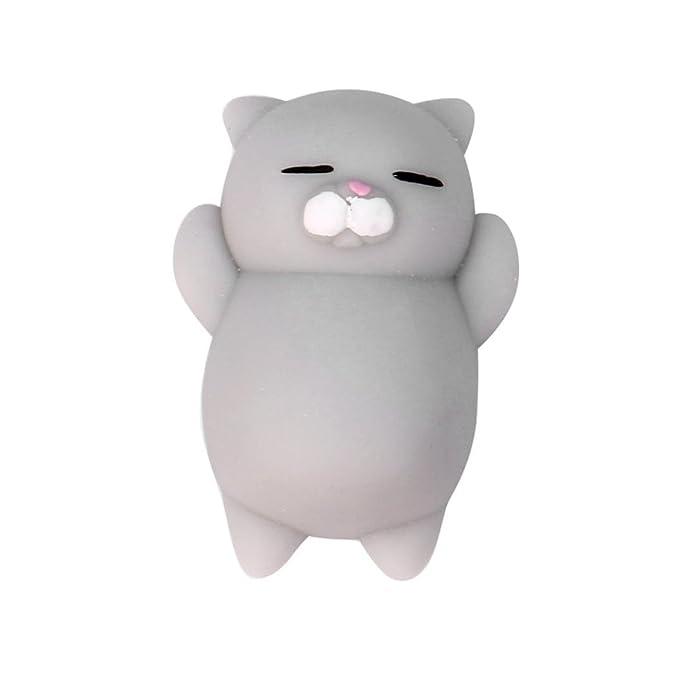 Amazon.com: toraway 1pc Cute Lovely mochi gato Squishy ...