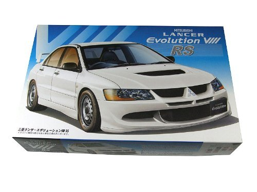 Fujimi model [03549] 1/24 Mitsubishi Lancer Evolution VIII RS -inch up No.102