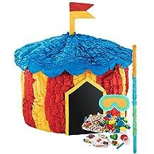 Carnival Games Party Supplies - Circus Tent Pinata Kit