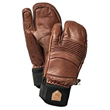Hestra Army Leather Fall Line Mitt Snowboard Mitts - Brown by Hestra