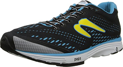 Newton Running Men's Aha Running Shoes 9.5 Black/Blue