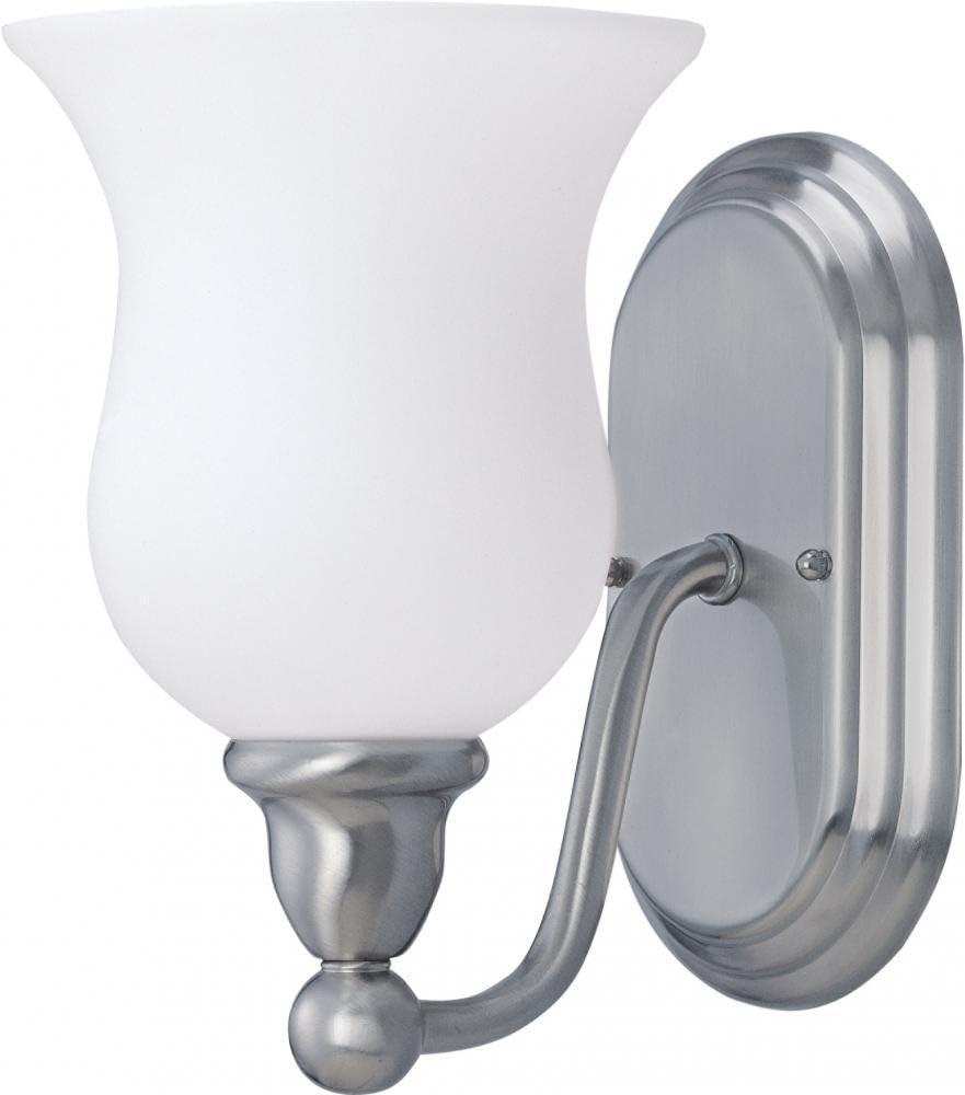 Nuvo 60 1812 Glenwood 1-Light Vanity, Brushed Nickel