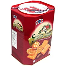 Kerk Sweet Time Assorted Gourmet Biscuits 24.7 Ounce Gift Tin