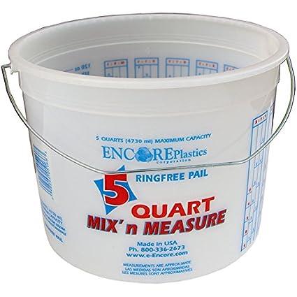 Amazon.com: Encore Plastics 5166 Mix \'N Measure Ringfree Plastic ...