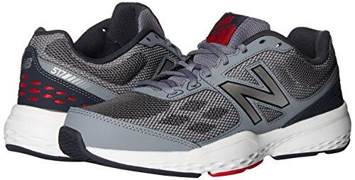 Chaussures Sport Balance Homme Gris Salle En New Rouge gris De Pour Training dEIqWw8