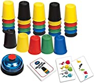 LUXJET Quick Cups Games for Kids, Classic Speed Stacking Cup Game for Kids Flying Stack Cup Parent-Child Inter