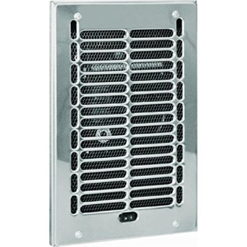 Cadet Bathroom Electric Wall Heater Assembly & Chrome Grill 12