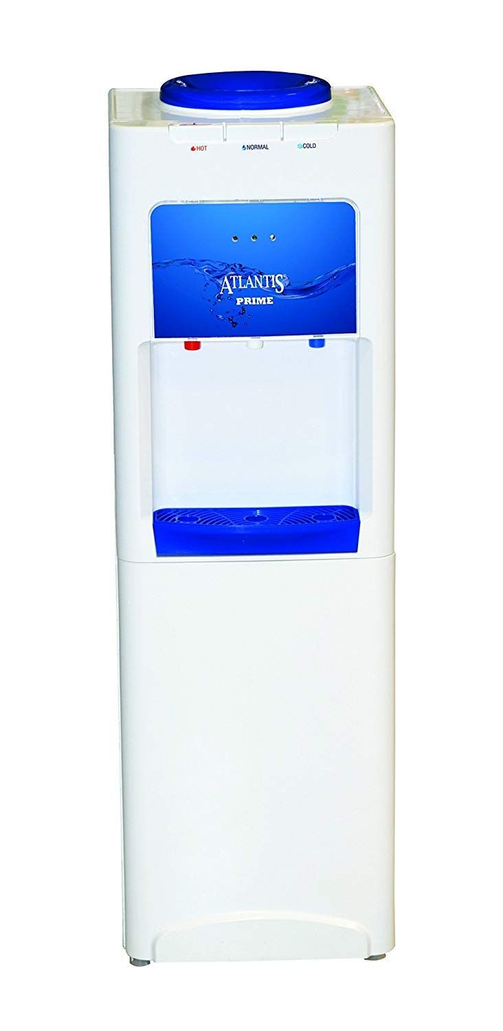Atlantis Prime Awd 004 Hot Normal And Cold 4l Floor Standing Water Dispenser With Cooling Cabinet White And Brown Amazon In Home Kitchen