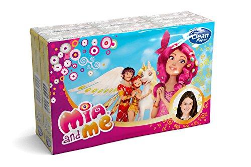 Clean Paper Zakdoeken Mia and Me – 1 verpakking met 6 verpakkingen
