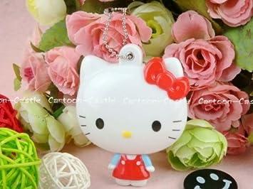 Amazon.com: Hello Kitty teléfono celular encanto llavero ...