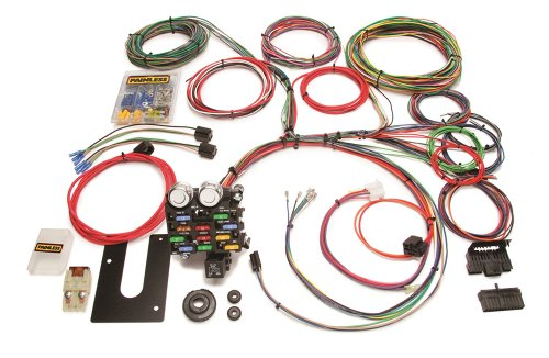Painless 10101 Classic Customizable Chassis Harness (GM Keyed Column-21 Circuits) - Painless Performance Wiring Harness