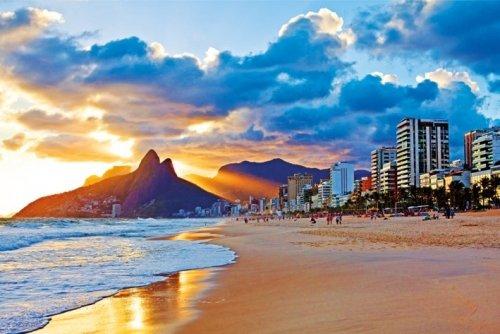 Rio De Janeiro Beach Photo Poster