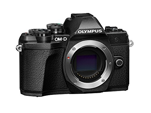 Olympus OM-D E-M10 Mark III Camera Body (Black), Wi-Fi Enabled, 4K Video