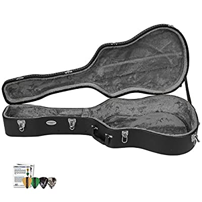 ChromaCast Guitar Hard Case with Pick Sampler from ChromaCast