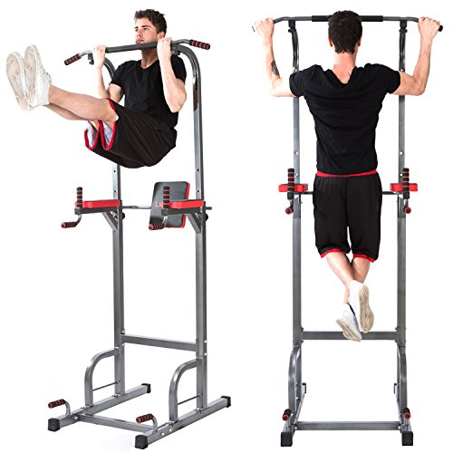 Lx Free Power Tower - Home Gym Adjustable Multi-Function Fitness Equipment Pull Up Bar Stand Workout Station by Lx Free (Image #4)