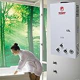 Tengchang 12L 3.2 GPM LPG Gas Propane Instant Tankless Hot Water Heater Boiler Bath
