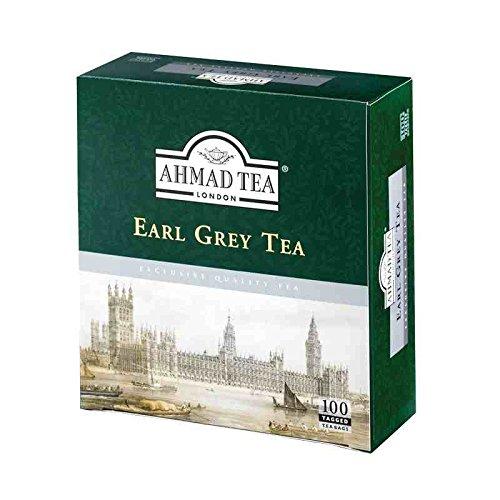 3 Boxes of Ahmad Earl Grey Tea 100 Tagged Tea Bags Each ()