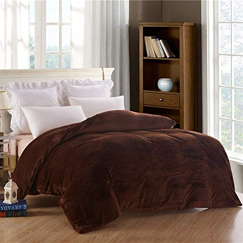 Cheap NOKOLULU Removable Duvet Cover for Weighted Blanket Flannel Duvet Cover - JUST Cover(80