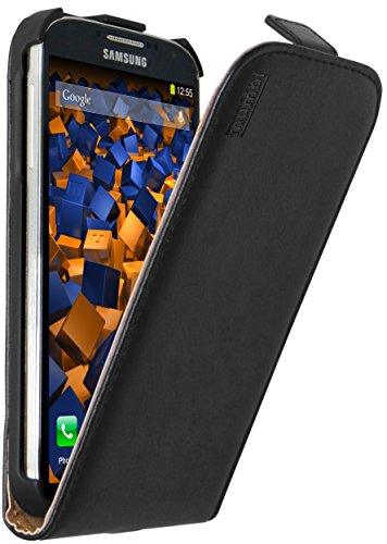 mumbi PREMIUM Leder Flip Case Samsung Galaxy S4 Tasche