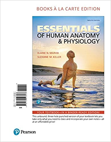 Essentials of Human Anatomy & Physiology, Books a la Carte Edition ...
