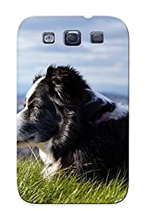 Crazinesswith Faddish Phone Border Collie Case For Galaxy S3 / Perfect Case Cover