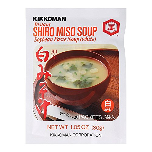 Kikkoman Soup - Instant Shiro Miso - Case Of 24 - 1.05 ()