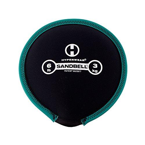 Hyperwear SandBell Sandbag Training Free Weight (Pre filled) (6)