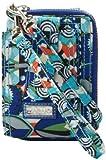 Hadaki Nylon Essentials Wristlet,Mardi Gras,One Size