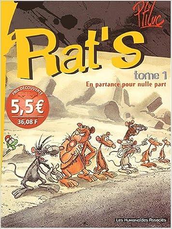 Téléchargement Rat's, Tome 1 : En partance pour nulle part pdf, epub ebook