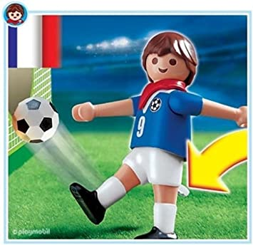 playmobil 4710 les sportifs joueur football franais