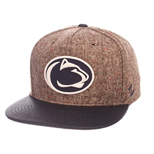 Zephyr NCAA Penn State Nittany Lions Adult Men Legend Heritage Collection Hat, Adjustable, Tweed