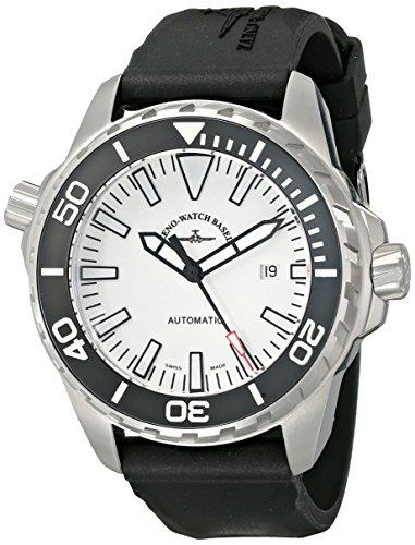 Zeno Men's 6603-2824-A2 Divers Black Rubber Strap Watch