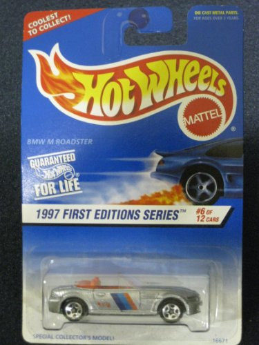 Hotwheels BMW M Roadster-1997 1st Edition Series # 6 de 12 # 518