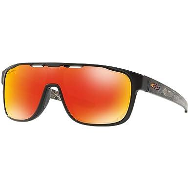 f6b0c013129 Image Unavailable. Image not available for. Color  Oakley Men s Crossrange  Shield Sunglasses ...