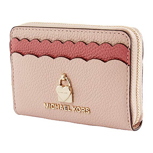 MICHAEL Michael Kors Zip Around Coin Card Case Soft Pink/Multi One Size