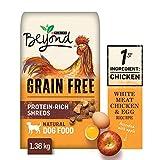 Beyond Grain Free Natural Dry Dog Food, White Meat Chicken & Egg 1.36 kg Bag