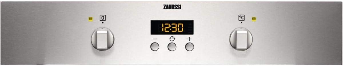 Zanussi ZOB442X Horno Multifunción, 3 funciones, Reloj electrónico ...