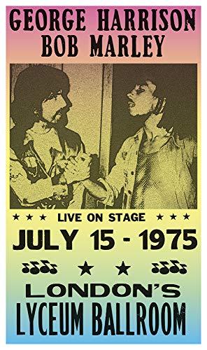 George Harrison Poster - George Harrison & Bob Marley 13