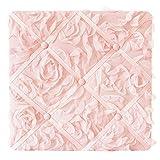 Sweet Jojo Designs Pink Floral Rose Fabric Memory